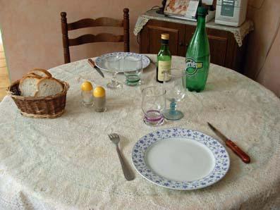 Repas la fran aise comment nous dressons la table ma tante z lie le blog du nord de la - Comment mettre la table en france ...