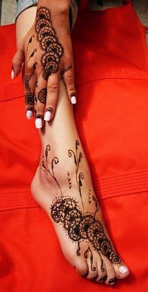 somain-scoop :tatouage au henné pour les mains et les pieds · Ma ...