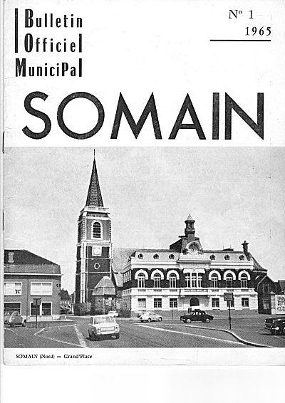 bulletin municipal de Somain ;couverture