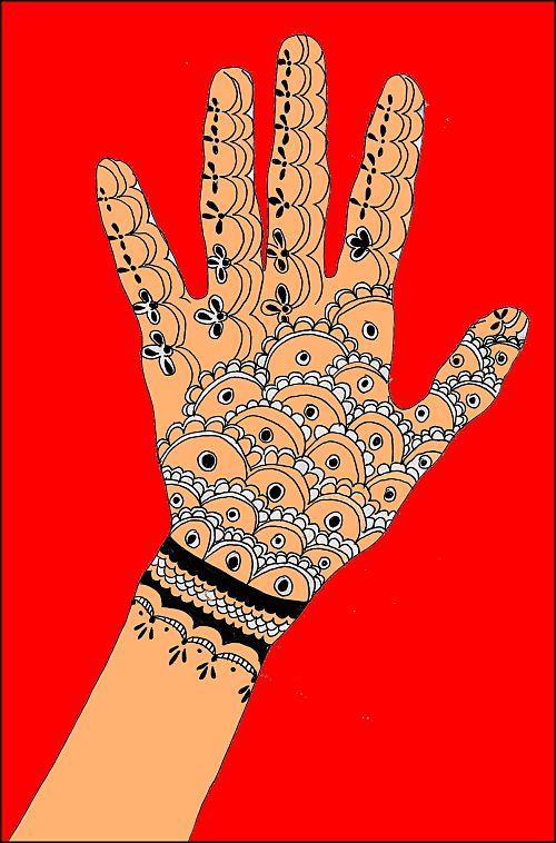 motif de tatouage indien